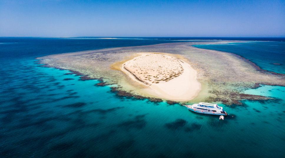 Hamata Island Marsa Alam Aerial View